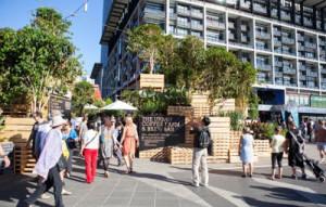 Café a Melbourne ha fatto con i pallet4