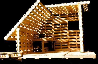 Casa di pallet o rifugio ai profughimobili con pallet for Aggiungere ai piani di casa
