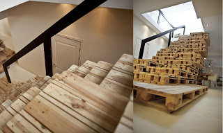 Come costruire le scale con i pallet