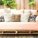 Incredibile pallet cinemamobili con pallet mobili con pallet - Costruire un divano in legno ...