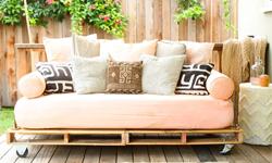 Costruire un divano letto (futon) con pallet in legno