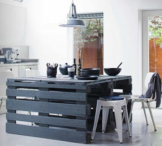 Facile da costruire tavolo con pallet in legnomobili con pallet mobili con pallet - Costruire tavolo in legno ...