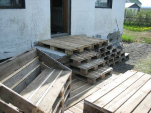 Fare un ponte di legno con pallet3