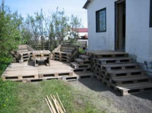 Fare un ponte di legno con pallet4