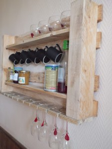 Scaffale da cucina per i nostri mobili pallet3