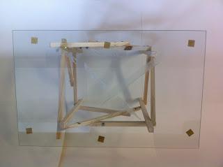 Tavolo design fatta di pallet di legno3