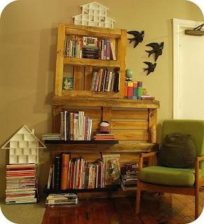 Costruire un librerie con i pallet