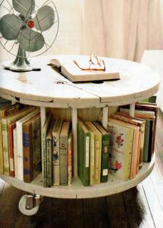 Costruire un tavolo con una bobina di legno4