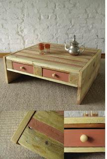 Fare un tavolino piccolo con pallet in legno
