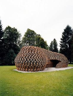 Palettenpavillon, padiglione progetto architettonico con pallet2