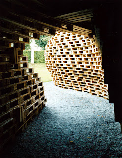 Palettenpavillon, padiglione progetto architettonico con pallet3