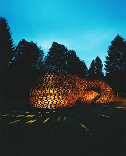 Palettenpavillon, padiglione progetto architettonico con pallet6