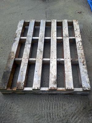 Bauen benchs mit Paletten2