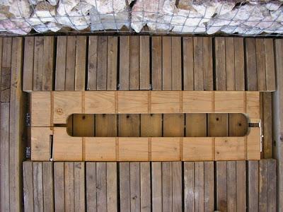 Mobili con pallet centro di produzione agricola costruita su pallet di legno riciclato11