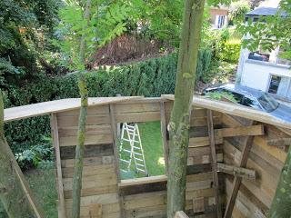 Pallet albero - casa per i nostri figli5