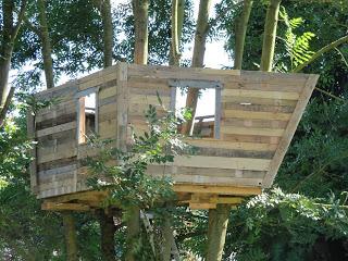 Pallet albero - casa per i nostri figli6
