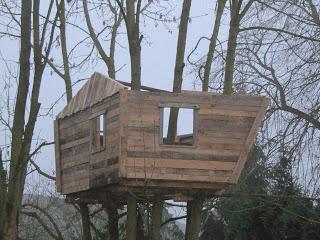 Pallet albero - casa per i nostri figli7
