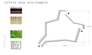 Progettazione architettonica di un tempio fatto con i pallet5
