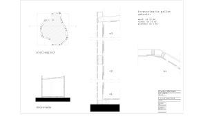Progettazione architettonica di un tempio fatto con i pallet7