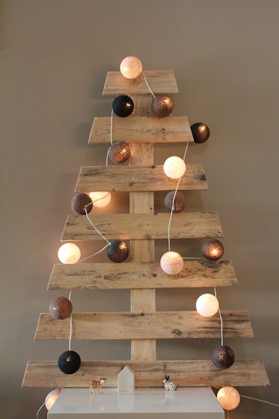 Albero di Natale fatto con i pallet4