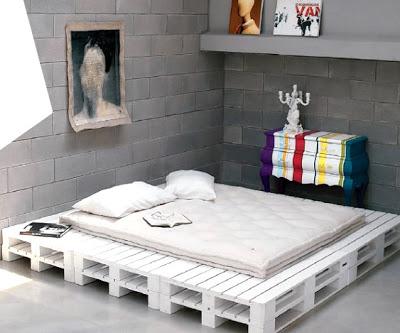 Cheap camera da letto per bambini realizzato con pallet2