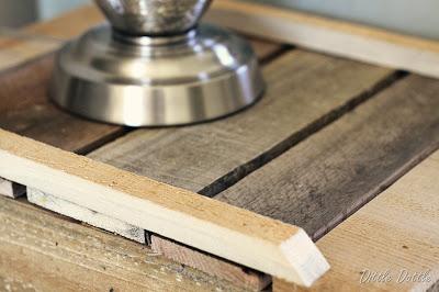 Costruire un comodino rustico con pallet di legno riciclato4
