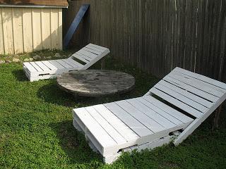 Costruire una sdraio ( chaise long) per il vostro giardino con i pallet7