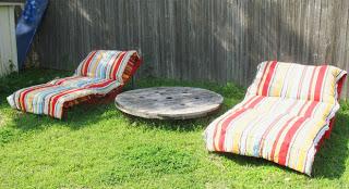 Costruire una sdraio ( chaise long) per il vostro giardino con i pallet8