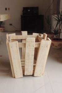 Decoy construcción mobili con pallet riciclati3