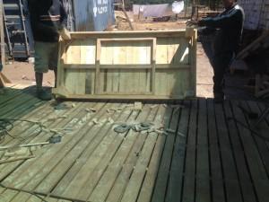 Decoy construcción mobili con pallet riciclati4
