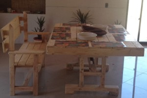 Decoy construcción mobili con pallet riciclati5