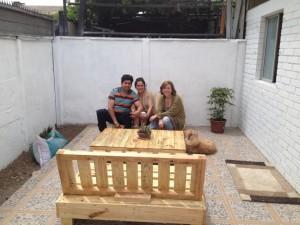 Decoy construcción mobili con pallet riciclati6
