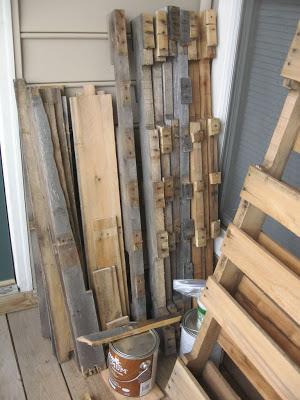 Disegno tavolo esagonale per il vostro balcone realizzato con pallet di legno2
