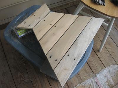 Disegno tavolo esagonale per il vostro balcone realizzato con pallet di legno4
