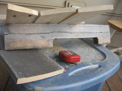 Disegno tavolo esagonale per il vostro balcone realizzato con pallet di legno5
