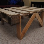 Tavolo da pranzo fatta di palletmobili con pallet mobili - Costruire tavolino ...
