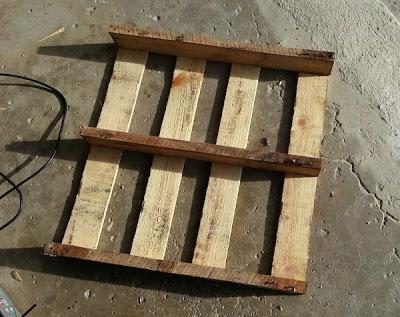 Fai il tuo slitta con un pallet di legno3