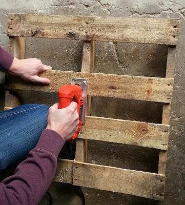 Fai il tuo slitta con un pallet di legno4