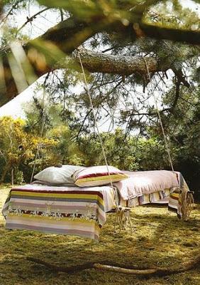 I mobili più originale il letto oscillante
