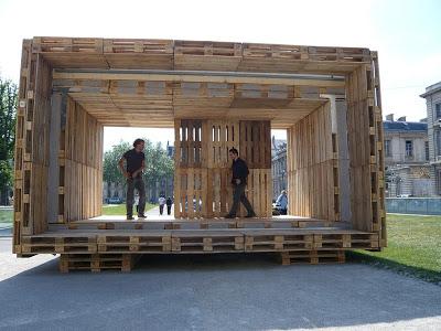 Mobili Con Pallet Prezzi : Il paletten haus una casa a prezzi accessibili realizzato
