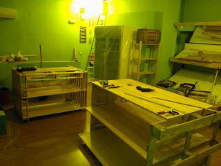 Negozio Eco tutte arredate con mobili di pallet3