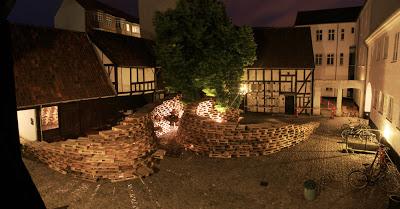 Padiglione fatta di pallet dagli studenti della Scuola di Architettura di Aarhus5