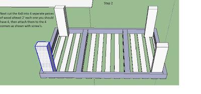 Piani per fare una semplice tabella con i pallet2