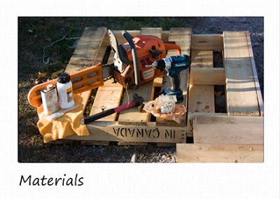 Piccoli scaffali rustico in pallet di legno riciclato2