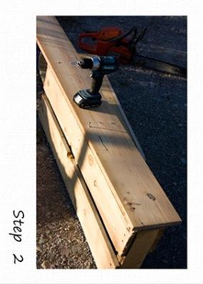 Piccoli scaffali rustico in pallet di legno riciclato4