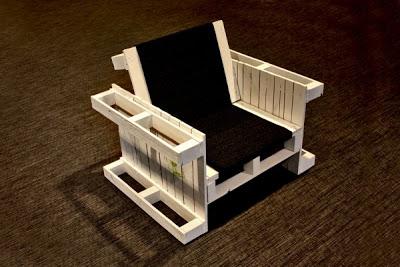 Poltrone costruiti con pallet in legnomobili con pallet - Mobili con bancali in legno ...
