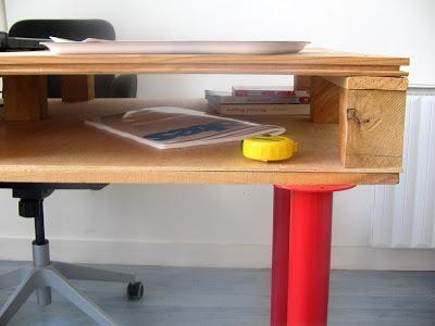 Scrivanie per ufficio per i nostri mobili pallet5