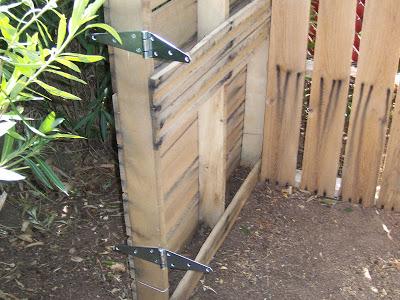 Secchio compost realizzato con pallet di legno5