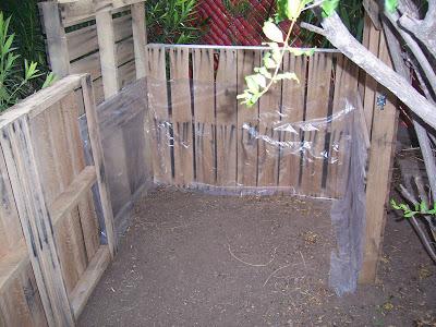 Secchio compost realizzato con pallet di legno8