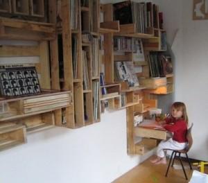 Idee originali realizzati con pallet in legno 3